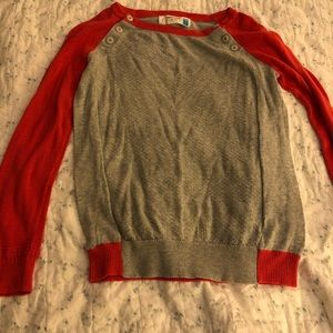 Adorable baseball sweater from Anthropologie